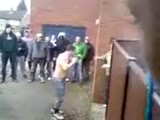 Street fight in England