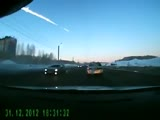 Meteorite in Russia from dashcam