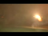Roman candle fireworks fight